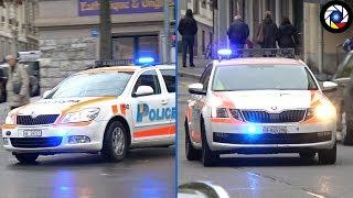 Police Cars responding [Compilation] Police en Urgence