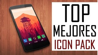 TOP Mejores Icon Packs Para Android  GRATIS | Mejores Iconos Para Android 2015