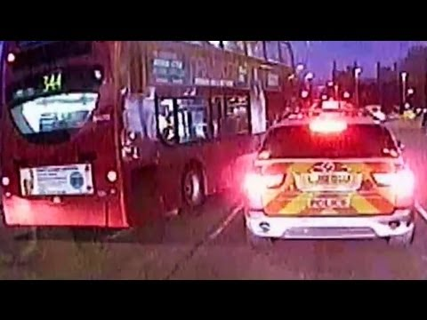ROAD WARS - Met Police Car Vs London Bus