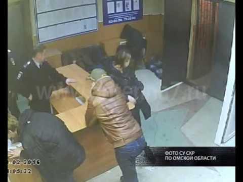 В Омске будут судить сержанта полиции, избившего задержанного мужчину