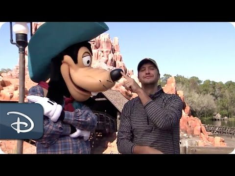 Luke Bryan Visits Magic Kingdom | Walt Disney World