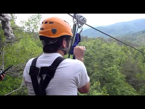 Climb Works Zip Line, Gatlinburg, TN