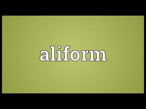 Header of aliform