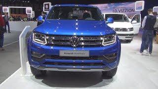 Volkswagen Amarok Aventura 4MOTION 3.0 V6 TDI 258 hp (2018) Exterior and Interior