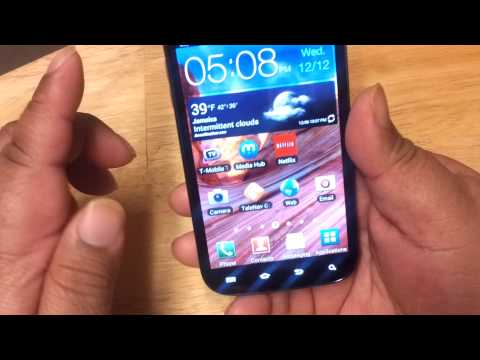 Samsung galaxy S2 T mobile version sgh-t989 review