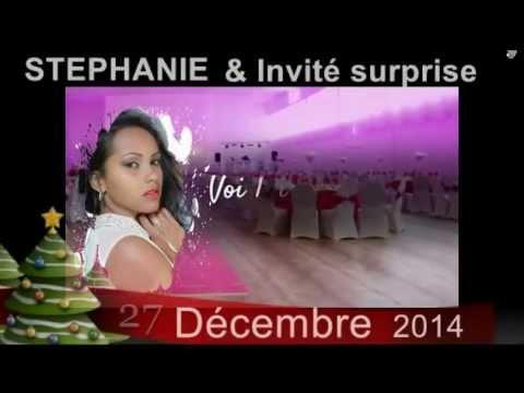 Stephanie Tsakarao à Paris les 27 décembre 2014