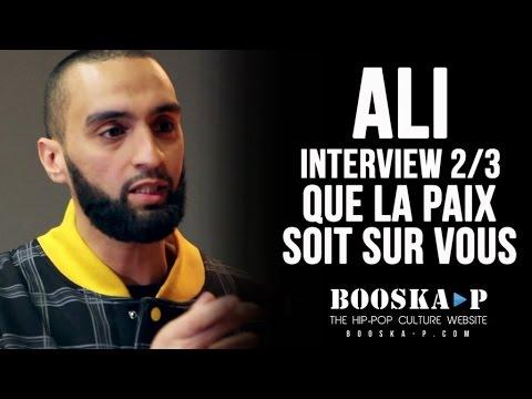 Ali : « Le Hip-Hop à la base c'est rendre positif ce qui est négatif. » [Interview 2/3]