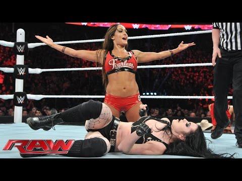 Nikki Bella vs. Paige – Divas Championship Match: Raw, March 2, 2015