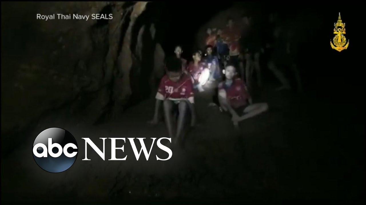 Boys' soccer team and coach found alive in Thailand cave