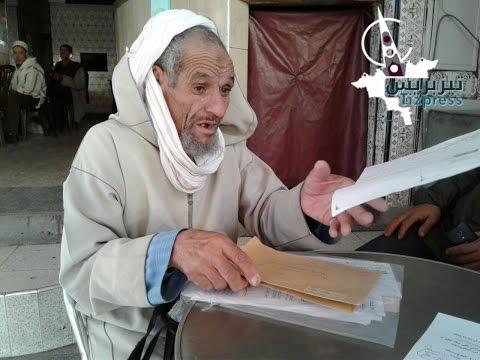 (فيديو) .. سبعيني يراسل وزير العدل ويُقرر الدخول في إضراب عن الطعام أمام محكمة تيزنيت