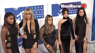 Fifth Harmony arrive at 2016 MTV Video Music Awards White carpet