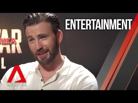 Chris Evans interview in Singapore