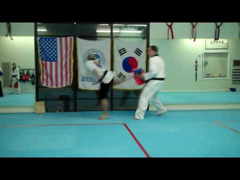 Taekwondo Advanced Sparring Techniques Vol 2 Image 1