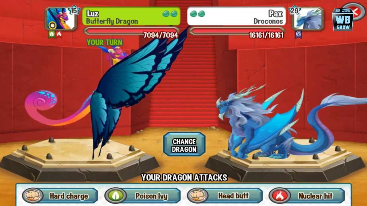 Dragon City Weakness of All Dragons Dragon City Butterfly Dragon