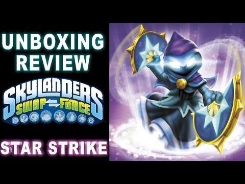 Skylanders Swap Force Wii U - Skylanders Star Strike Unboxing & Gameplay