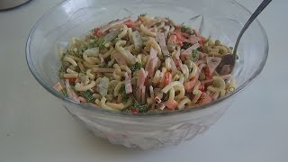 Салат( Nudelsalat)