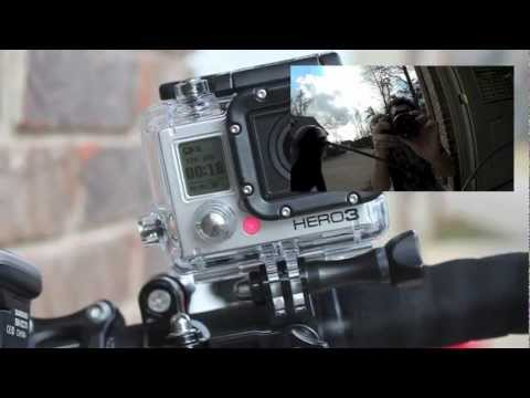 GoPro Hero 3 Mounted to Gun and Bike