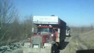 Mack Trucks Hauling Coal
