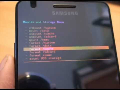 ClockWorkMod (CWM) Recovery. Restore of a System Image. Nandroid