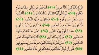 Muhammad Taha Al-Junayd- Surah Al-Waqi'ah