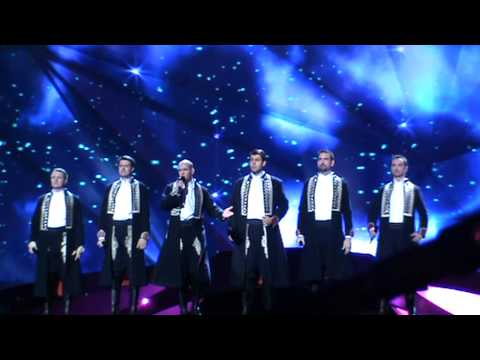 2nd Rehearsal Croatia  Klapa S Mora   Mi  Erja  Eurovision 2013 