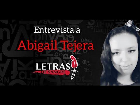 Entrevista Abigail Tejera, letras de sangre, grupo literario