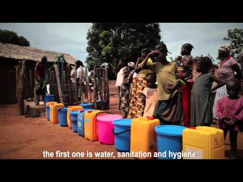 Humanitarian support: Helping the internally displaced in the Central African Republic