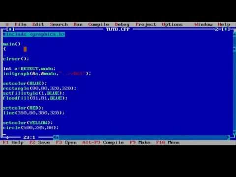 Programa en C++ para hacer gráficos