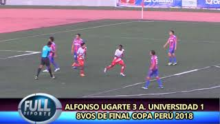 ALFONSO UGARTE 3 ALIANZA UNIVERSIDAD DE HUANUCO 1