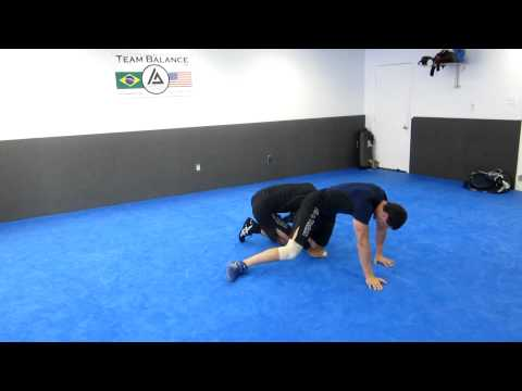 10 Grappling Takedowns, Drilling: Single Leg Progression Image 1