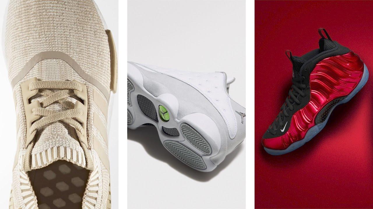"""New PREMIUM Jordan 11 Sneaker, adidas NMD R1 """"Linen"""" , PLATINUM Jordan 13 Low and more on HEAT CHECK"""