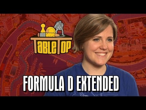 TableTop Extended Edition: Formula D (Wil Wheaton, Grace Helbig, Greg Benson, Hannah Hart)