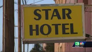 Residents of Lodi hotel seek refuge after fire destroys home