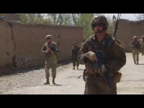 Task Force Solid Dismount Patrol Outside Bagram Air Field