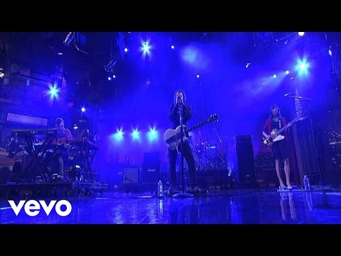 Silversun Pickups - The Pit (Live on Letterman)