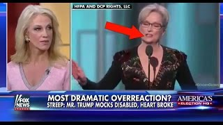 KELLYANNE CONWAY DESTROYS HYPOCRITE MERYL STREEP FOR TRUMP BASH GOLDEN GLOBES SPEECH