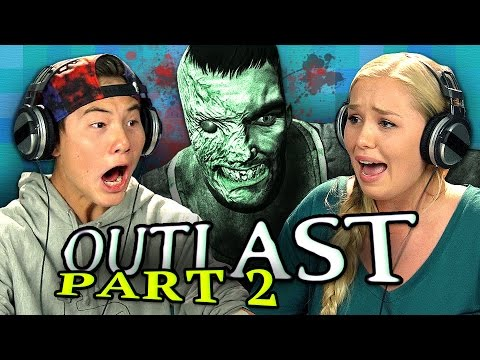 OUTLAST: PART 2 (Teens React: Gaming)