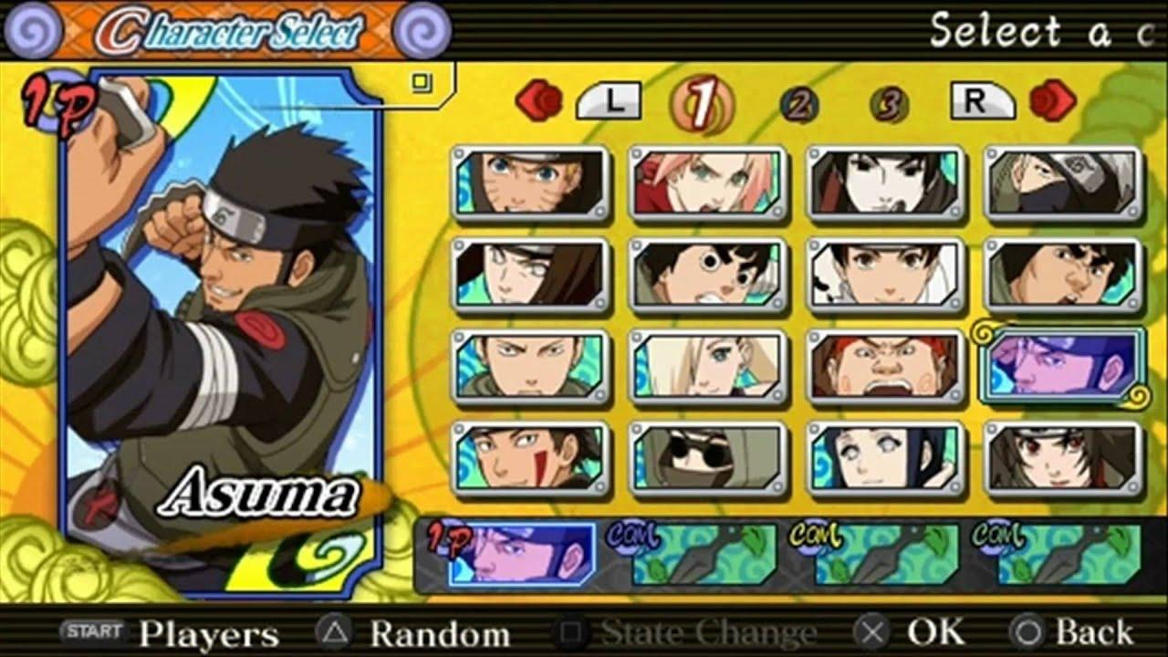 Игры наруто с PSP на андроид через эмулятор PPSSPP