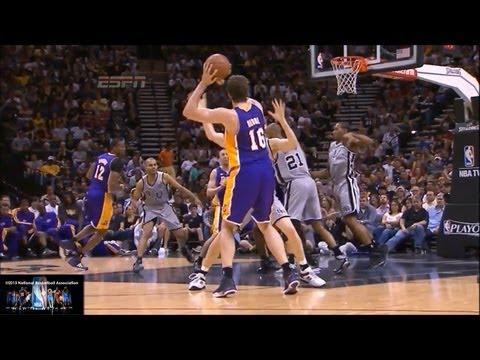 Pau Gasol Lakers Offense Highlights 2012/2013