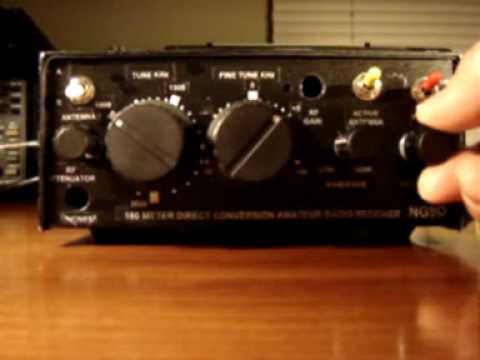 Ten-Tec T1056 160m Ham Radio Kit  CW DEMO