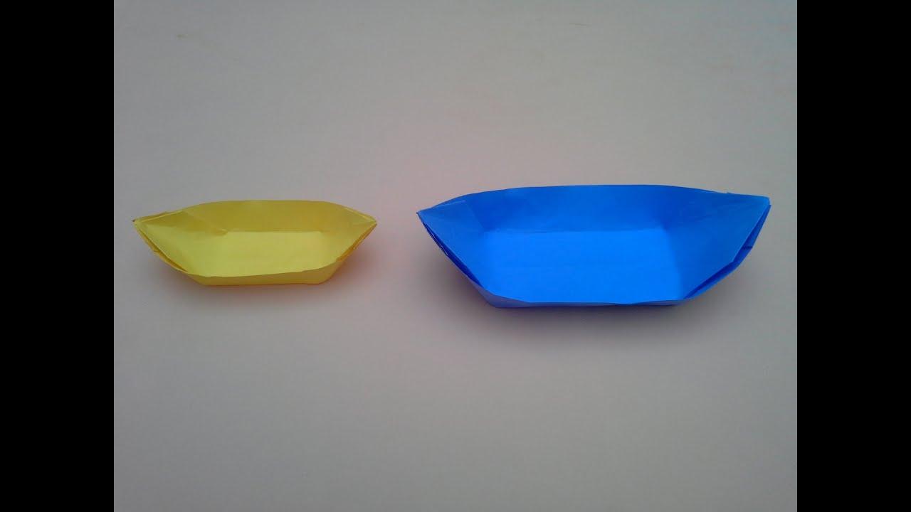 Como hacer una canoa de papel youtube for Como hacer una pileta de fibra
