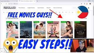 HOW TO DOWNLOAD FILIPINO MOVIES FREE 2019 ( LEGIT ) TUTORIAL!!