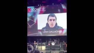 Liam Gallagher at Q Awards 2017