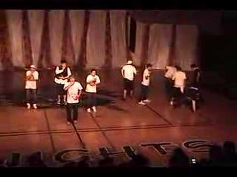 San Marcos High School All-Male Dance Team