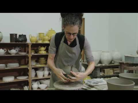Assembling a Teapot Spout Finial Handle with Master Potter Linda Sikora