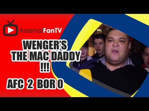 Wenger's The Mac Daddy!!! - Arsenal 4 Newcastle Utd  1