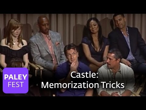 Castle - Memorization Tricks and Teamwork on Set (Paley Center, 2010)