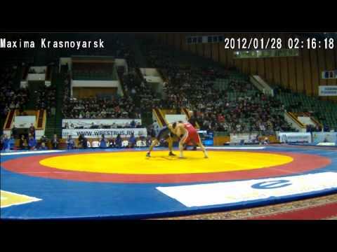 Б. Цыренов-А.Иванов Ярыгин 2012 60 кг
