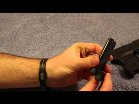 How to change Ruger LCP Grip Extension Mag Base Plate