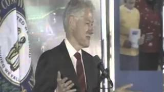 Bill Clinton Jokes About A President Taking Property From WH